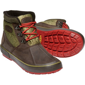 Keen Elsa II Ankle Quilted WP Zapatillas Mujer, mulch/martini olive